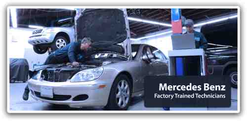 Mercedes benz repair by burdi motorworks in schiller park for Mercedes benz chicago service