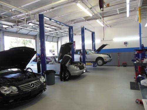 Mercedes benz repair by german motors autohaus in ventura for Mercedes benz repair shops