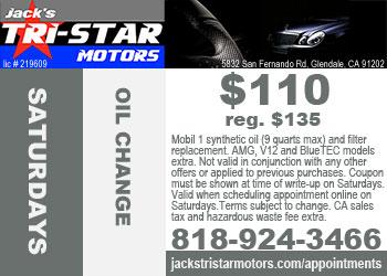 Mercedes Benz Repair By Jack 39 S Tri Star Motors In Glendale