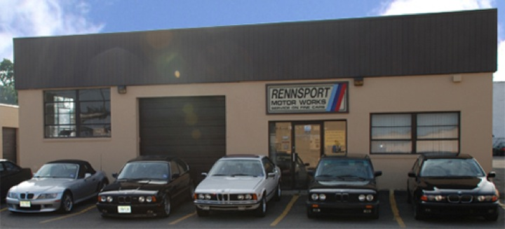 Mercedes benz repair by rennsport motor works in for Mercedes benz repair shops