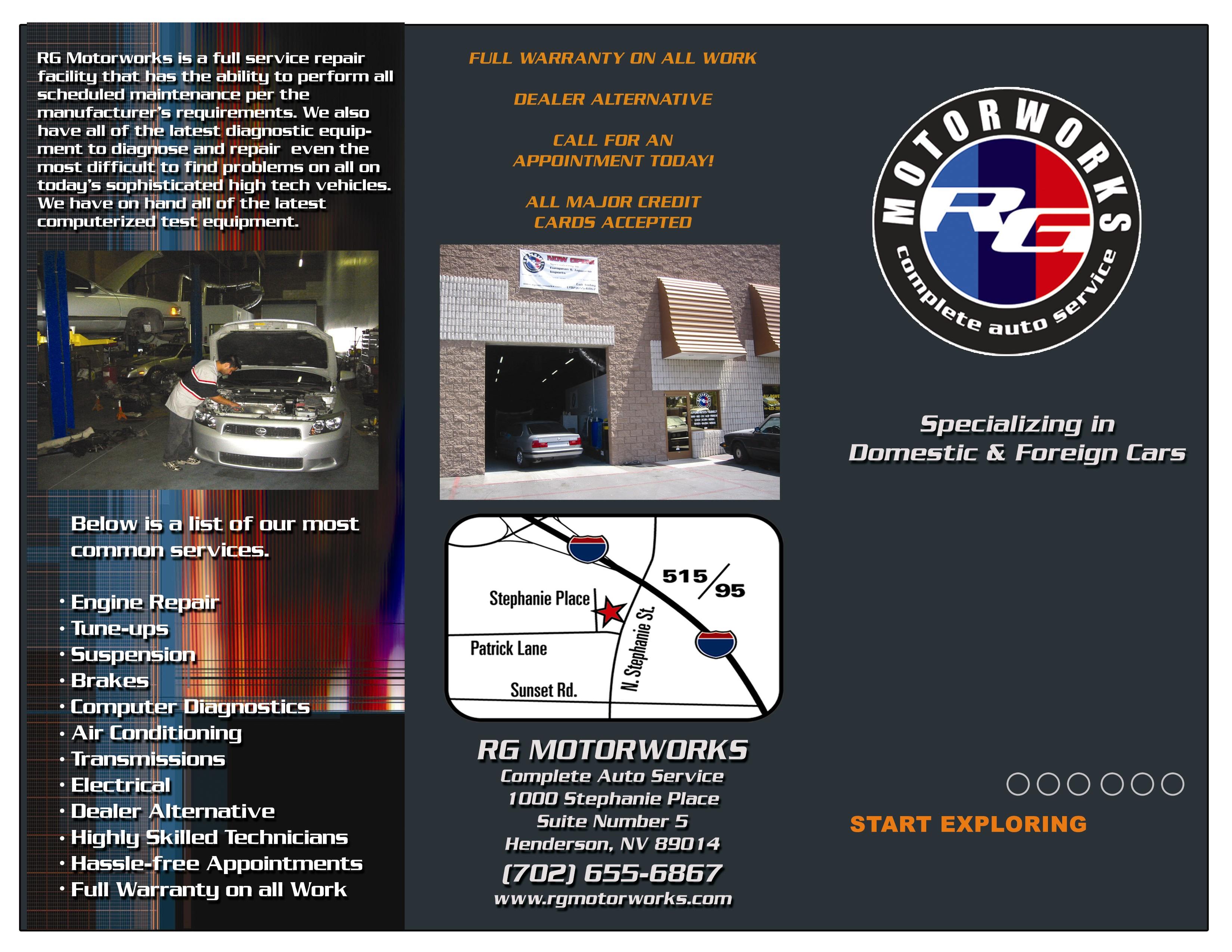 Mercedes Benz Repair By Rg Motorworks In Henderson Nv